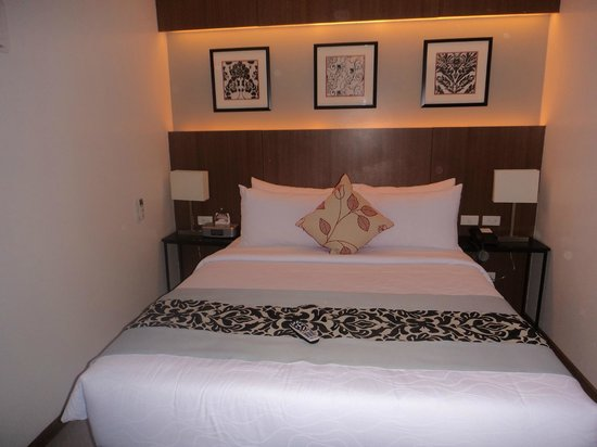 St. Mark Hotel: Comfy Bed