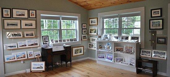 Heather Hannon Island Art Studio: Inside the Studio