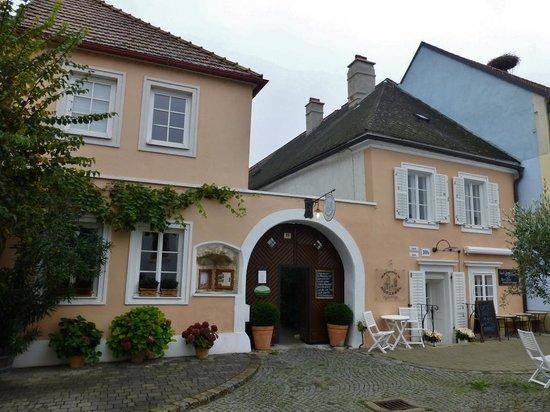 Wirtshaus im Hofgassl: Eingang vom Marktplatz
