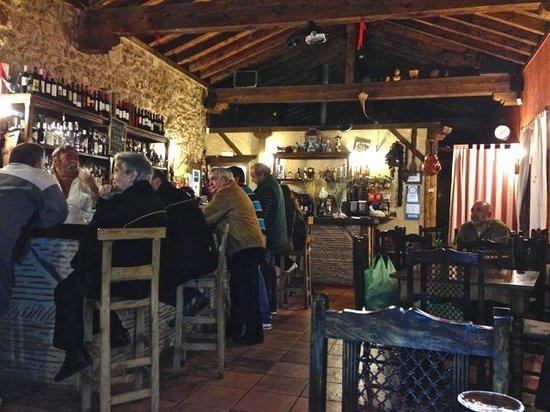 El Senorio De La Serrezuela: Bar area