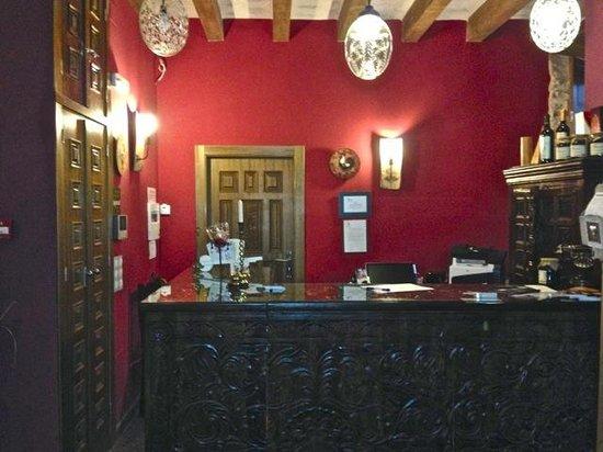 El Senorio De La Serrezuela: Reception area