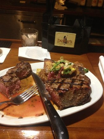 Ellias: This is the best strip steak you will ever have