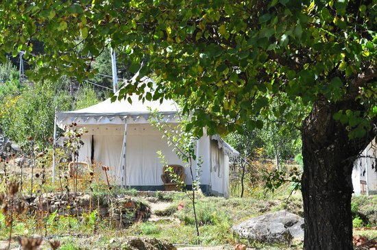The Monk-Kalpa: View of tent