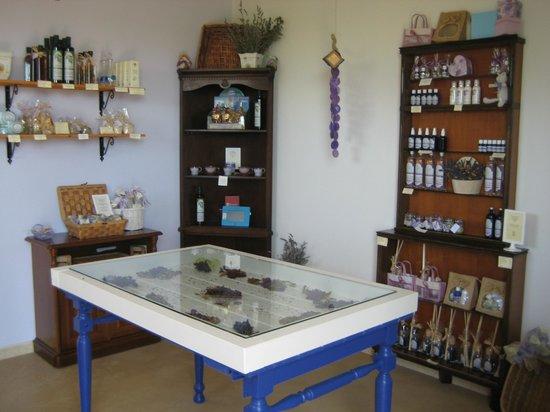 Lavanda Blu Agriturismo: shop