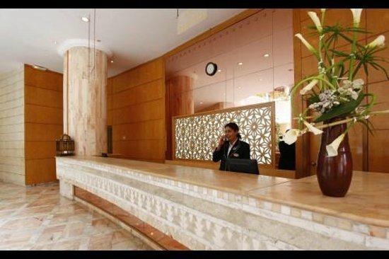 Marhaba Royal Salem: reception