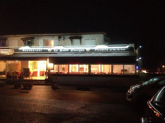 le saint Georges: Restaurant Pizzeria le Saint Geoeges