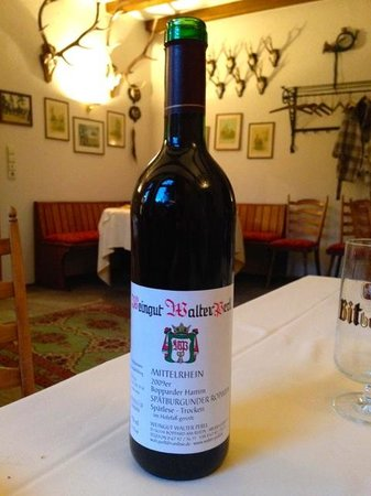 Hotel Tannenheim: excellent wines