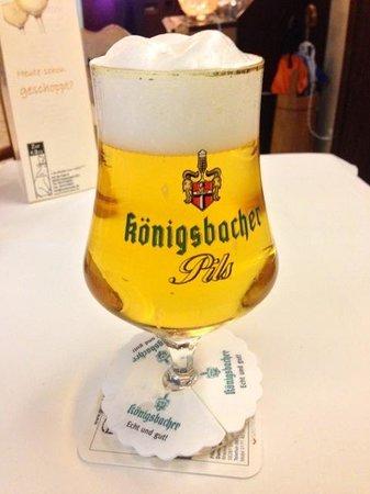 Landhotel Zur Katz: Great Beer nicely presented