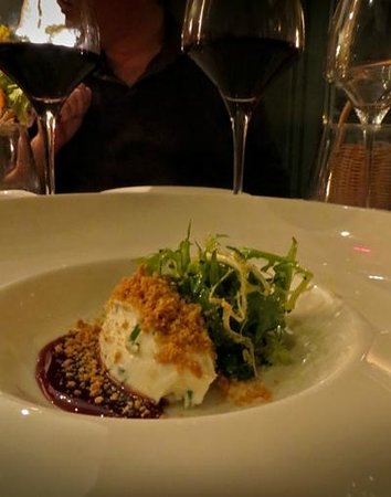Hotel des Ormes : Cheese Crumble