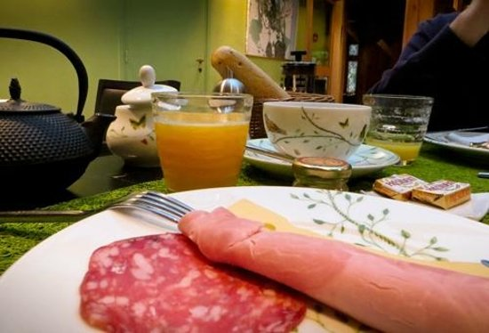 L'Absinthe Hotel: My favourite breakfast