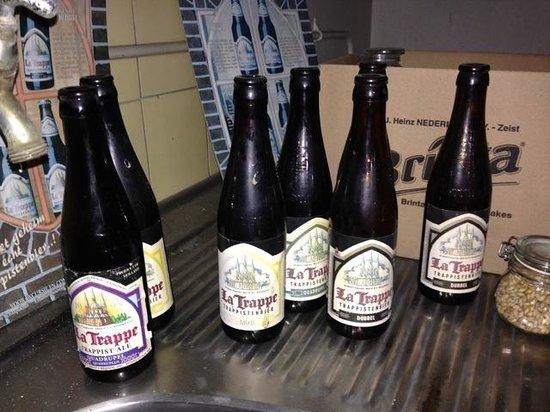 Beer Brewery de Koningshoeven: Original old style bottles