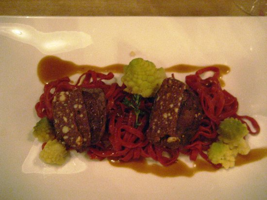 Heuriger Am Belvedere: Venison with chocolate