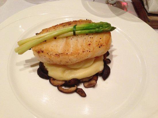 Restaurant Verbena : Sea bass (dinner)