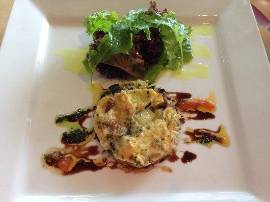 Restaurant Verbena : Vegetable Frittata - delicious!