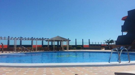 Gran Hotel Natura : The pool area