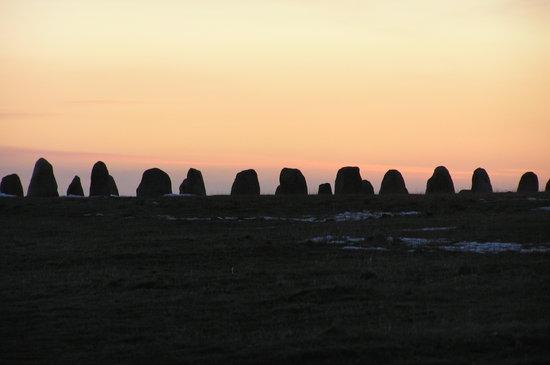 Ales Stenar - sunset 2