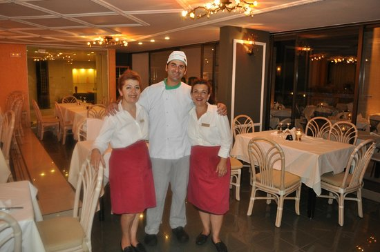 Agapi Beach Hotel: au restaurant italien