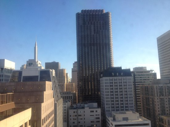 Hilton San Francisco Financial District: City view