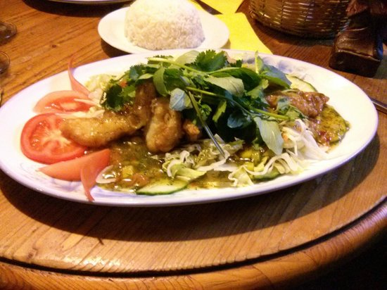 Maly Buddha: Sweet and Sour Fish