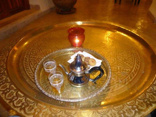 Palais Riad Calipau Marrakech: Minztee