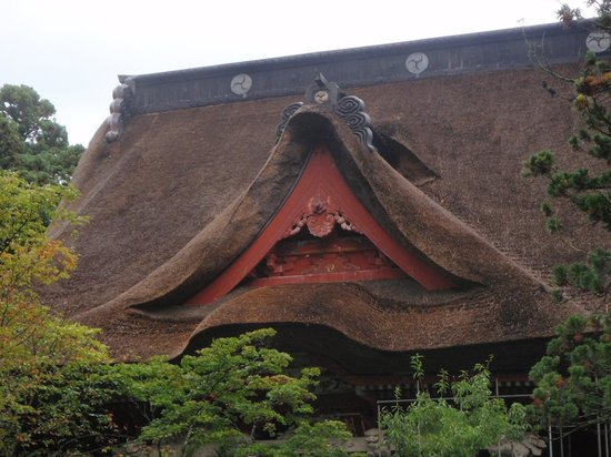Mt. Haguro: 茅葺が立派です