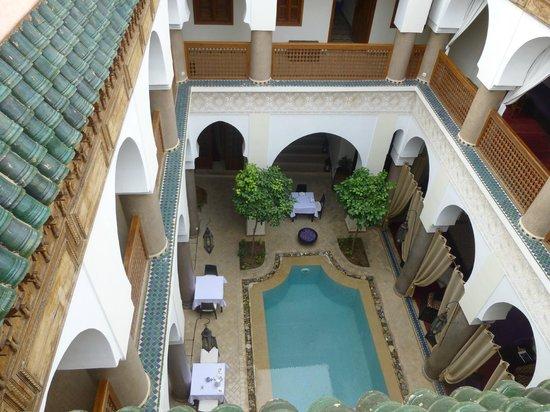 Palais Riad Calipau Marrakech: Blick von der Dachterrasse