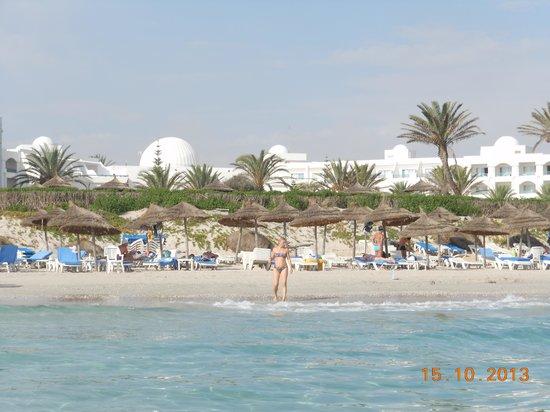 Mahdia Palace Thalasso : Vue de la mer