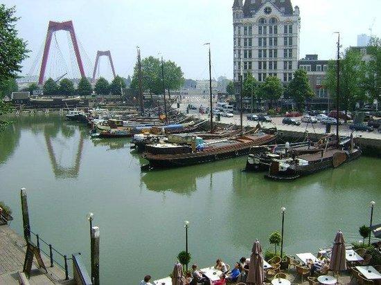 Stayokay Rotterdam: Vista do meu quarto