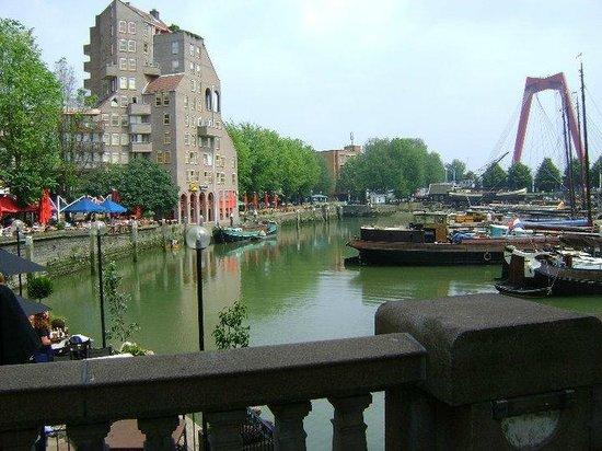 Stayokay Rotterdam : Vista do meu quarto