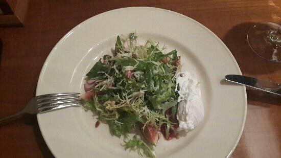 Taliesin: Салат с хамоном