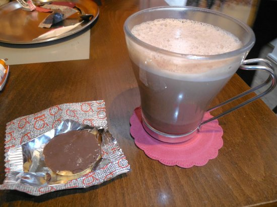 Brasserie Agrea: Chocolate quente no Agrea