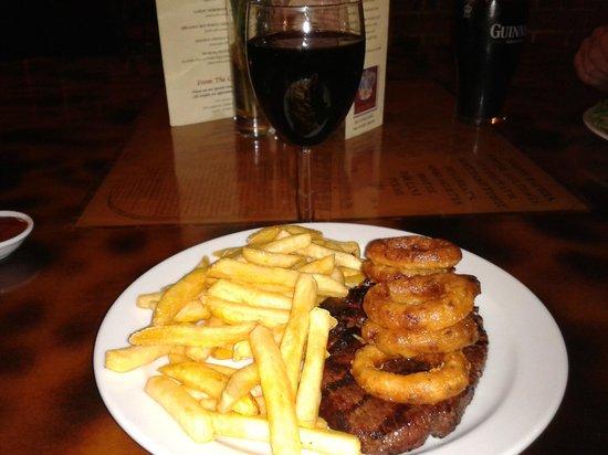 The Crown: steak