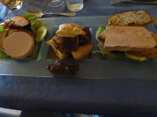 Auberge La Ferme du Brusquand : foie gras