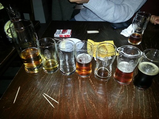 Prague Brewery Tour: The beers