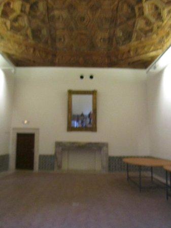 Palacio ducal de Pastrana: artesonado techo