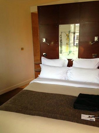 Select Hôtel : View of the room