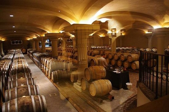 Ferrari-Carano Winery: Downstairs, under the tasting room