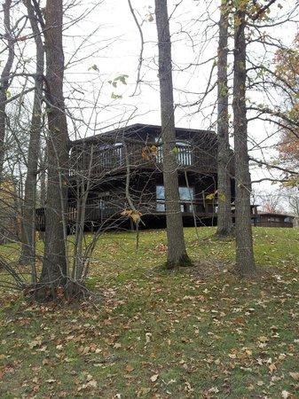 Cabin 206 at Kohl's Resort in Bemidji, MN.