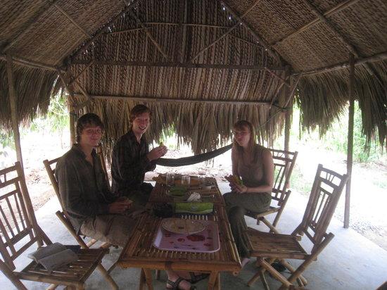 Green Bamboo Lodge : restaurant