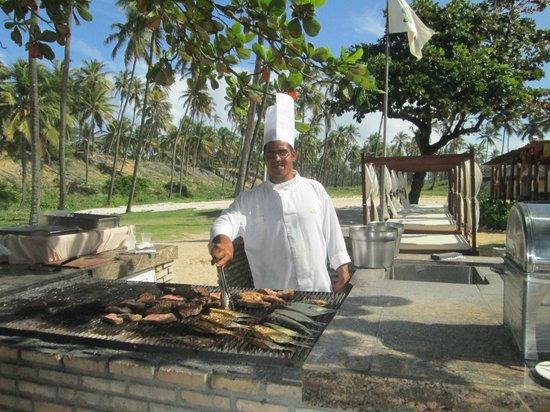 Grand Palladium Imbassai Resort & Spa: Deliciosa parrilla