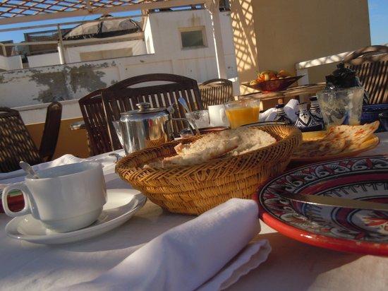 Riad Watier : petit déjeuner