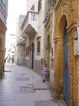 Riad Watier : l'entrée du riad