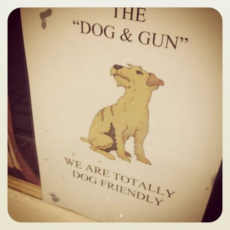 The Dog and Gun : And they love dogs