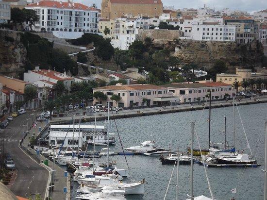 Mahon Port: mahon harbour