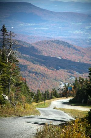 Grand Summit Resort Hotel at Mount Snow : View from Mt. Mansfield