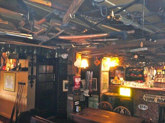 Northchapel, UK: Bar/Lounge area