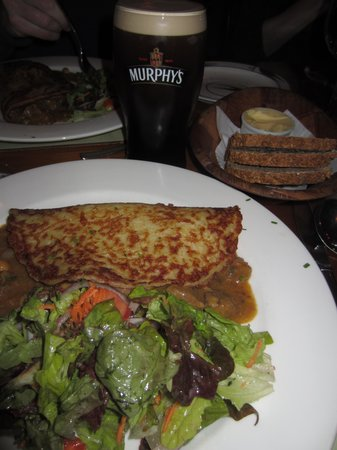 Bricin Restaurant: Boxty with Curried Lamb