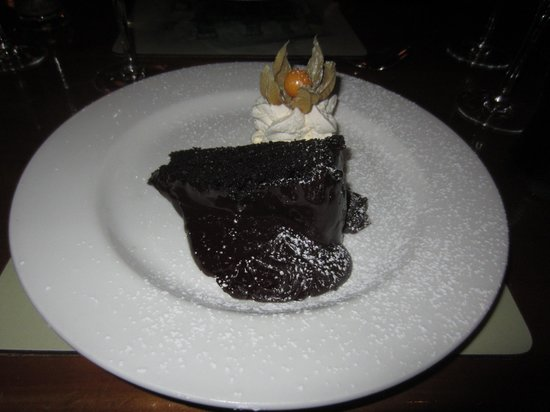 Bricin Restaurant : Chocolate Cake