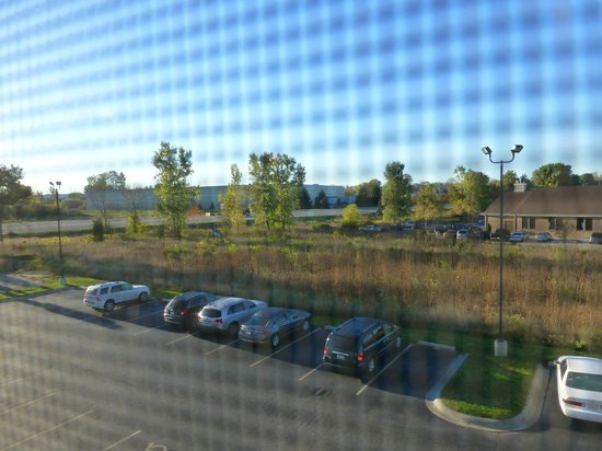 Microtel Inn & Suites by Wyndham Holland: Blick aus dem Fenster