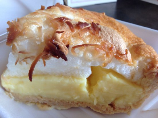 Ruby and Ketchy's: Delicious coconut cream pie
